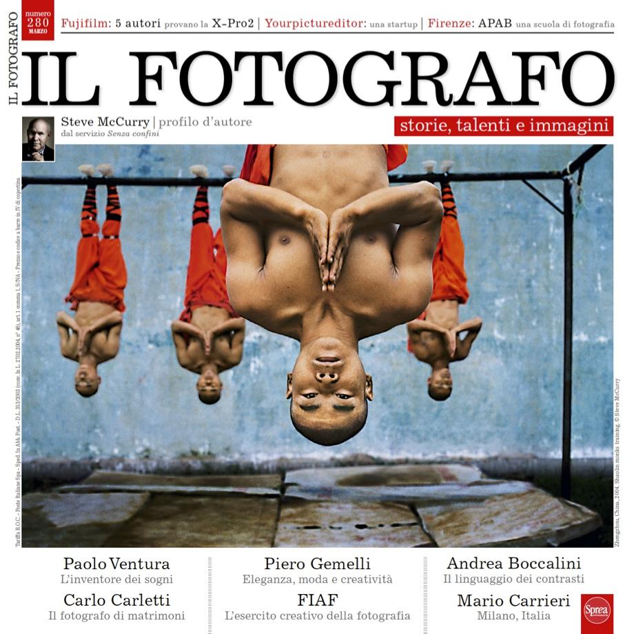 Copertina de Il Fotografo, Marzo 2016, n. 280