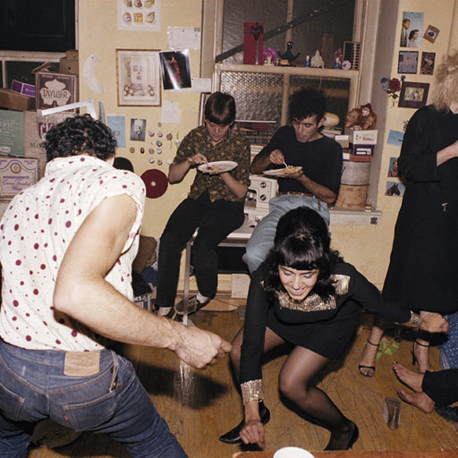 Twisting at my birthday party, New York City 1980 © Nan Goldin