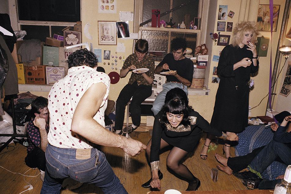 Twisting at my birthday party, New York City 1980 © Nan Goldin