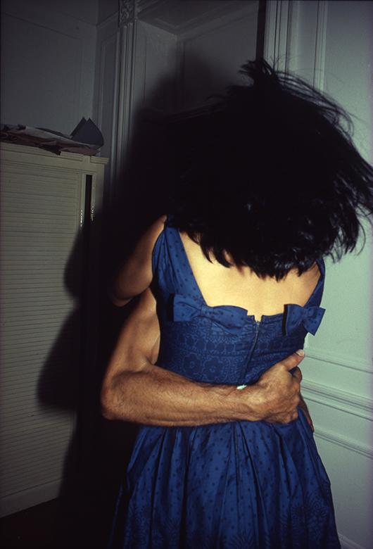 The Hug, NYC 1980 by Nan Goldin