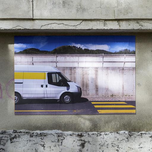 The Wall \\ Saluti da Aulla di Alessandro Trapezio