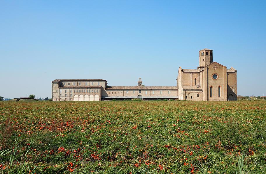 L'Abbazia Valserena a Paradigna (PR), attuale sede del CSAC
