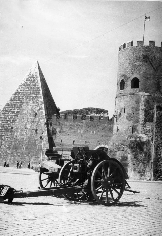 CSAC: La battaglia di Porta San Paolo, 10 settembre 1943. Publifoto/Roma