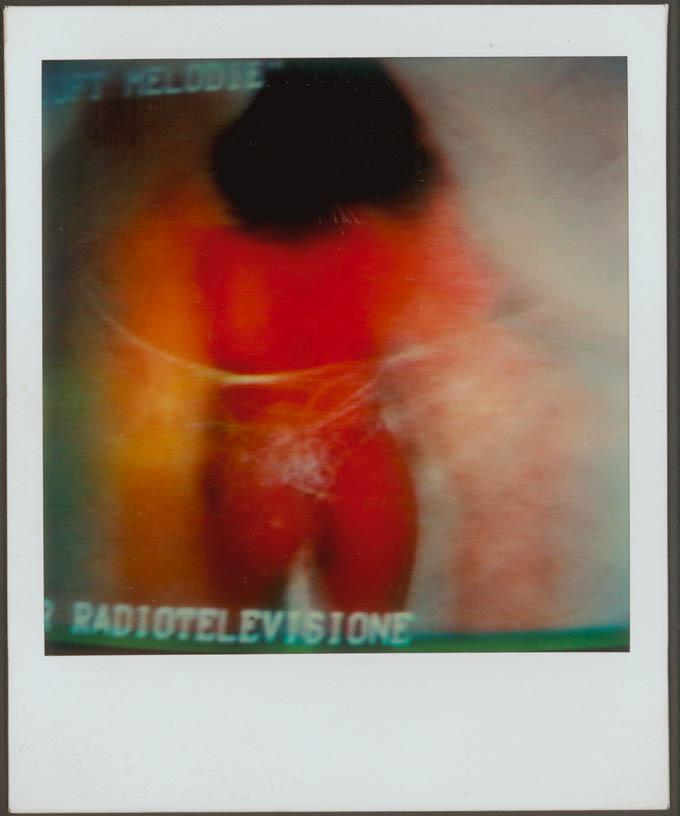 CSAC: Mario Schifano, Polaroid, 1980ca