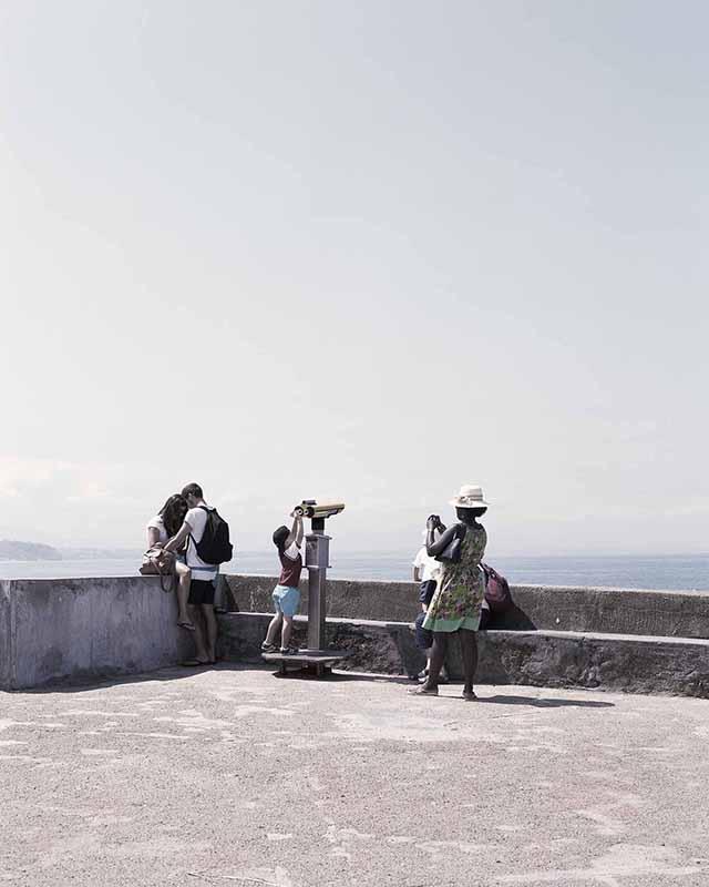 """Mathieu Farcy, dalla serie """"Paysages orientés"""", Point sublime - gorges du Verdon, 2014. Courtesy agence Signatures"""