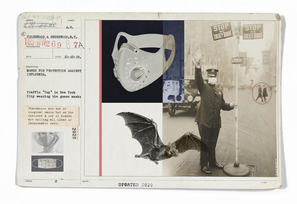 Pandemic Postcards by Nicola Bertasi